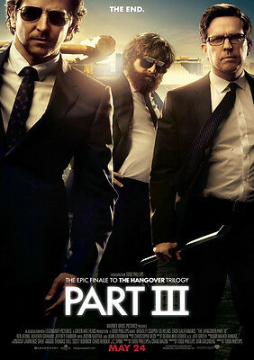 Brand New Movie Poster Print - The Hangover Part 3 A3 / A4