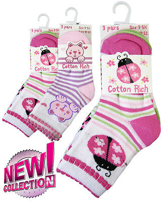 Babies socks, pack of 3.