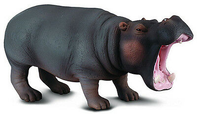 FREE SHIPPING | CollectA 88029 Hippopotamus Toy Replica - New in Package
