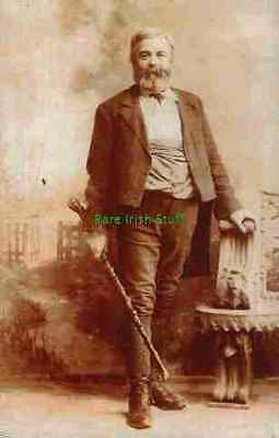 Michael Cusack GAA Gaelic Irish Sports Founder 1800s Portrait Print