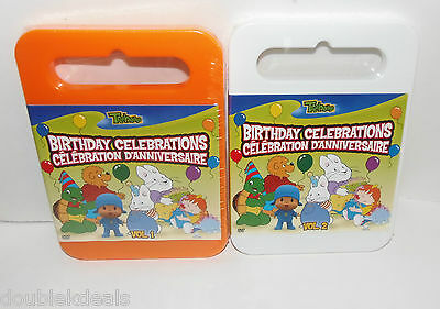 New Sealed Lot Of 2 Treehouse Birthday Celebration Dvd Movies Vol 1 & 2 Max Ruby