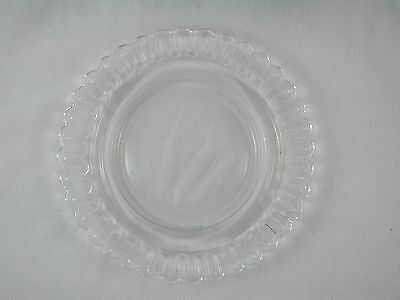 "Indiana CHRISTMAS CANDY 8"" Crystal PLATE Glass"