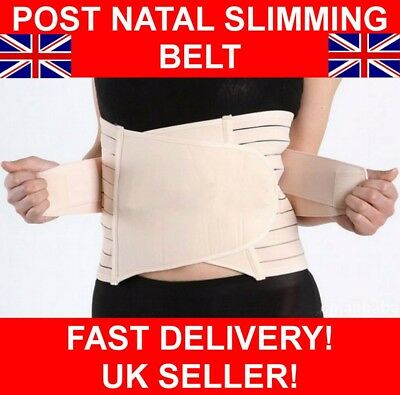Deluxe Post Natal Postpartum After Pregnancy Maternity Slimming Belt Wrap Band