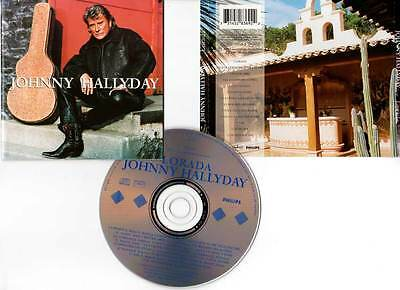 "JOHNNY HALLYDAY ""Lorada"" (CD) 1995"