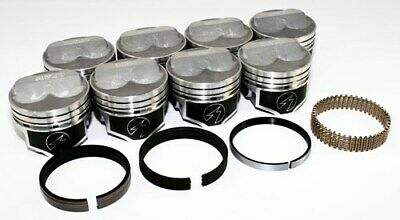 """Sealed Power Chevy 350 4.000"""" .275 Domed Pistons & Moly Rings Kit SBC STD H617CP"""