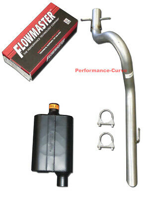 "01-06 Jeep Wrangler 2.5/"" Exhaust Kit Cherry Bomb Pro Muffler"