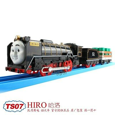 Tomy Trackmaster Thomas&friends Ts-07 Hiro With 2 Trucks Motorized Train