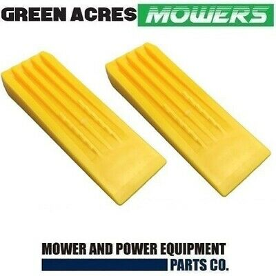 2 X 8 Inch Chainsaw Tree Felling And Splitting Wedges Hardended Plastic
