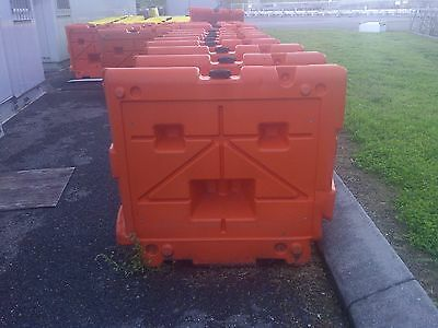 Jersey Plastic Road Barriers - Assorted Sizes 6' and 3' lenghths
