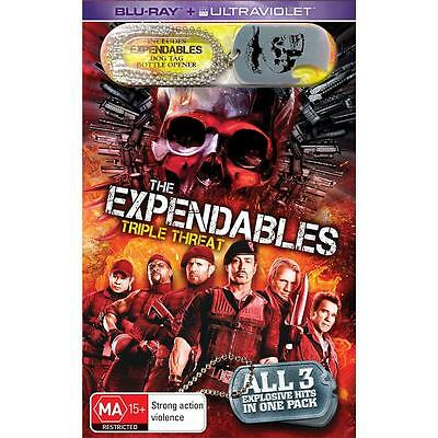 The Expendables / Expendables 2 / Expendables 3 Blu-ray RB Limited Edition