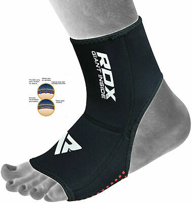 RDX Neoprene Ankle Brace Support Guard MMA Foot Muay Thai Boxing Gym Sport CA