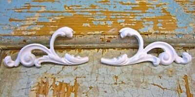 SHABBY n CHIC ARCHITECTURAL SCROLLS*FURNITURE APPLIQUES
