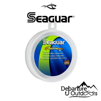 SEAGUAR FLUORO PREMIER FLUOROCARBON LEADER FISHING LINE 25 YARDS select lb. test