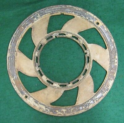 Antique Stove Pipe Grille Ring Iron Decorative #1782-13