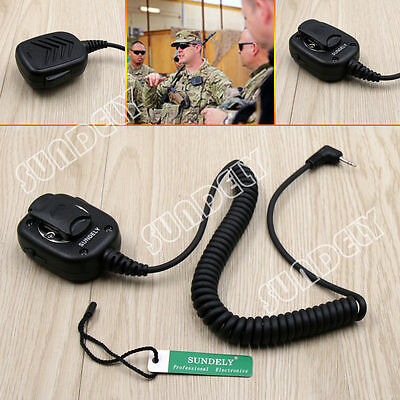 Speaker Hand Shoulder Microphone 53724 for Motorola Talkabout two-way Radio
