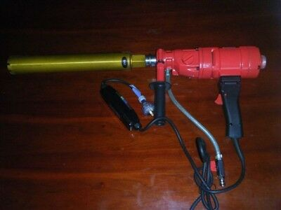 2 SPEED HAND HELD CORE DRILL with 63mm DIAMOND CORE BIT