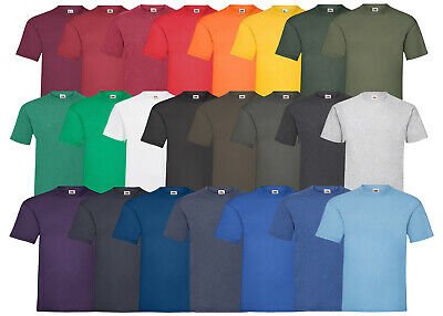 10 Fruit Of The Loom T Shirt Sets Baumwolle M L Xl Xxl 3Xl 4Xl 5Xl Shirts Neu