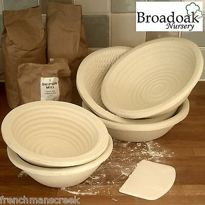 ROUND BANNETON BREAD DOUGH PROVING BASKET Proofing, Brotform, Bread Making