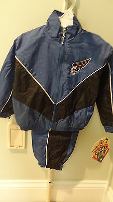 NWT NHL Washington Capitals Toddler 2-Piece Windsuit- Sizes 2T, 3T & 4T