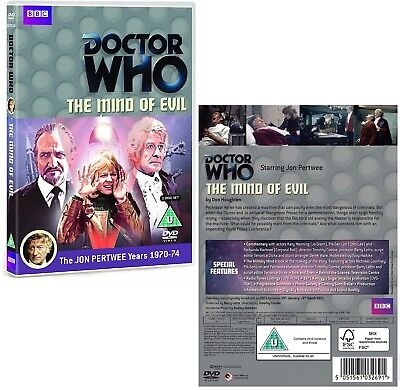 DR WHO 056 (1970) THE MIND OF EVIL - TV Doctor Jon Pertwee + Master NEW R2 DVD