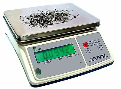 Tree MCT 33 Parts Counting Digital Bench Scale 33lb x 0.001lb  w/ 10V AC Adapter