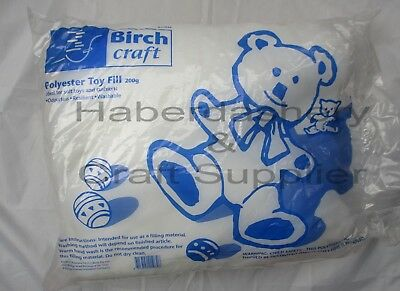 Toy Fill White Soft Wadding 200 Gram Bag Cost Price To Clear