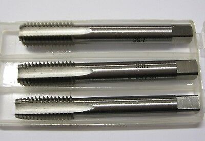 M10 X 1.25Mm Metric Fine Pitch Tap Set Of 3 Including Plug Taper Second Taps