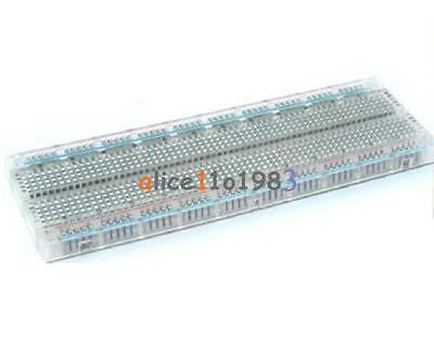 New Solderless MB-102 MB102 Breadboard 830 Tie Point  PCB BreadBoard For Arduino