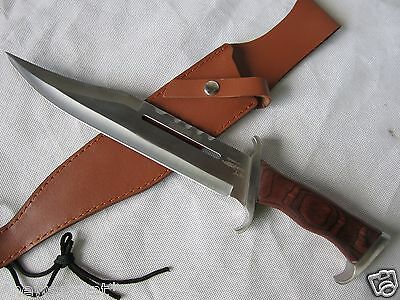 Larger Size Rambo Part III Bowie Knife [Sword/Dagger/Machete/Knife/Weapon] A483