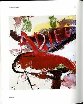 ANDY WARHOL CARL ANDRE JIM DINE CY TWOMBLY FRANK STELLA GERHARD RICHTER SCHNABEL