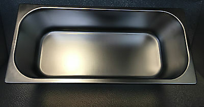 5 Litre GELATO Pan Stainless Steel 120 mm
