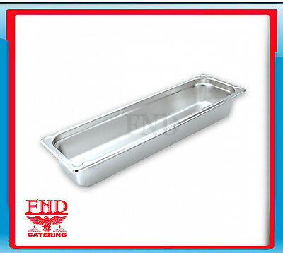 Bain Marie Tray 2/4 Size 65mm Stainless Steel