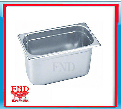 X6 Bain Marie Trays / Steam Pans / Gastronorm Pans 1/3 150 mm