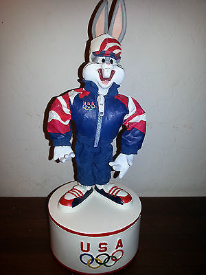 Bugs Bunny figure 1996 Olympic team collection RARE looney tunes warner brothers