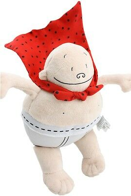 New Captain Underpants Plush Toy Stuffed Doll Book USA 8 Inch