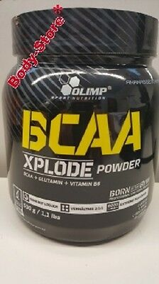 Olimp BCAA Xplode Powder 500g L-Leucine L-Valin L-Isoleusin + Probe