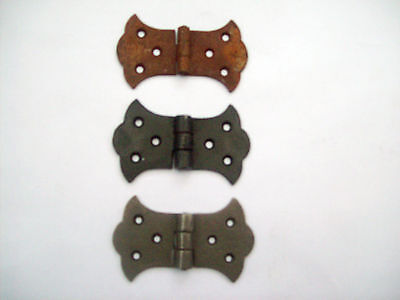 Decorative Butterfly Cast Iron Butt Cabinet Cupboard Door Hinges Counter Flap