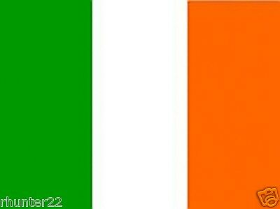 Huge 3' x 5' High Quality Ireland Flag - Free Shipping