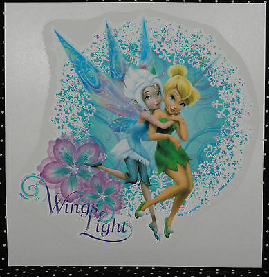 TinkerBell/Fairies,Edible Rice Paper Cake Tattoo,Decopac,Blue,Decoration