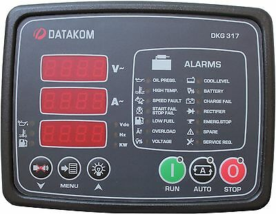 DATAKOM DKG-317 Generator Manual and Remote Start Control Panel / Unit