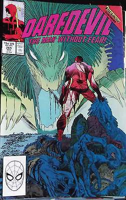 DAREDEVIL n° 265 ( Marvel ) 1989 INFERNO ,VENDS COMICS A 2 €