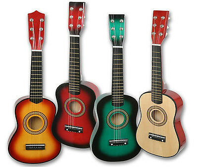 """Acoustic Guitar for Children Wooden 23"""" Musical Instrument Toy for Boys & Girls"""
