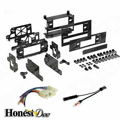 99-1005 Aftermarket ISO-Din Radio Mount w// Wires Car Stereo Install Dash Kit