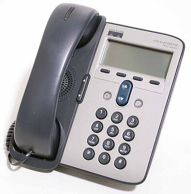 Cisco CP-7906G 7906G VOIP IP Office Business Telephone Phone Excl PSU