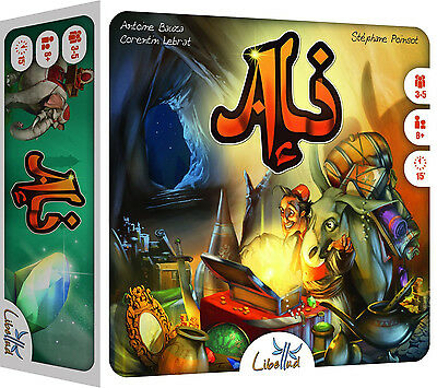 Ali - Ali Baba & The Forty Thieves Memory Card Game - Brand New