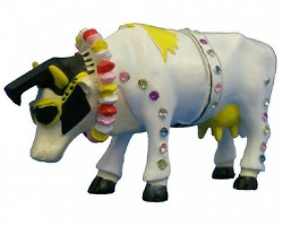 Cow Parade Rock 'n Roll Collectible Figurine 49137