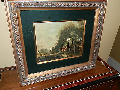 Quality Framed  Vintage Print Great Decorators Piece!!!