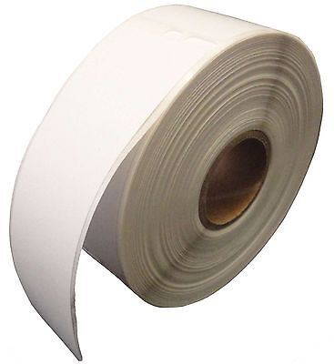 """12 Rolls... 30252 White Labels, 1-1/8""""x3-1/2"""" compatible with Dymo LabelWriter"""