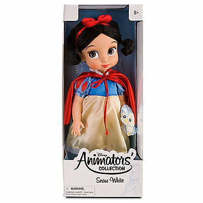 "Disney Store SNOW WHITE 16"" Animators Toddler Collection Doll Sold Out - NEW!!!"