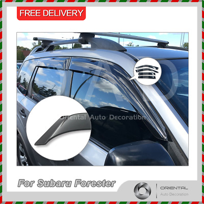 Premium Weathershields Weather Shields Window Visors for Forester 08-12 Model